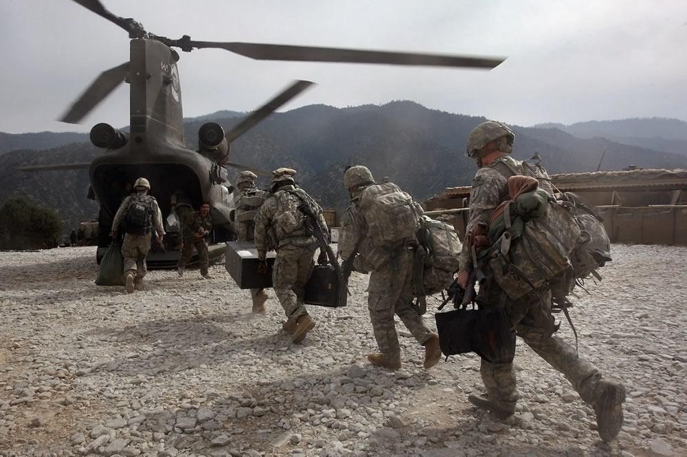 Gli USA si ritirano dall'Afghanistan