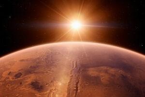 Il rover spaziale cinese su Marte tocca il pianeta rosso