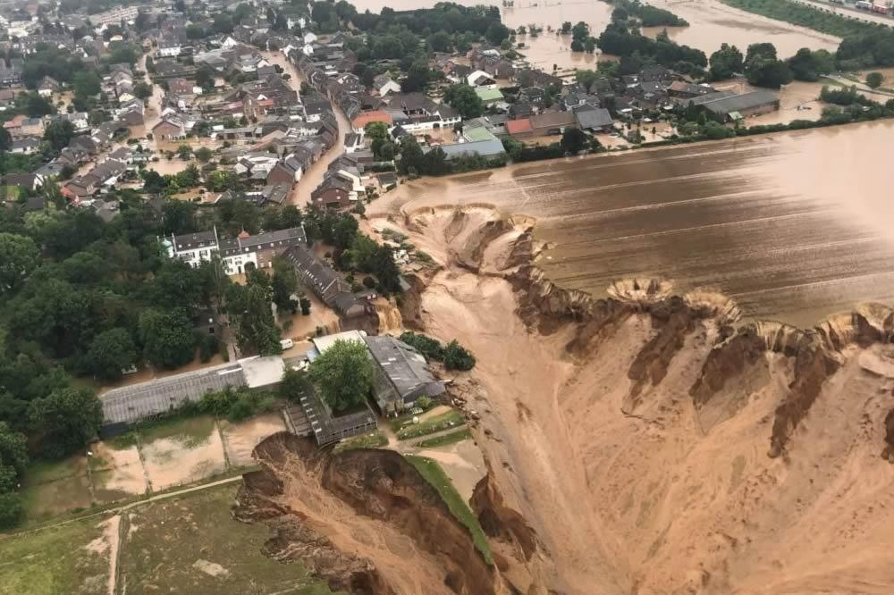 Le inondazioni devastano la Germania